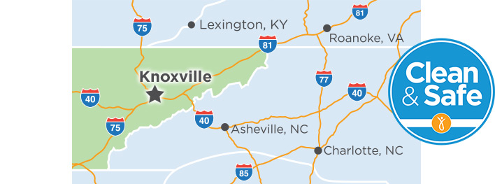 Provision CARES Proton Therapy Knoxville is located on Middlebrook Pike in West Knoxville.